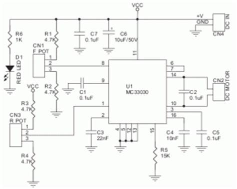 Komponen Ic Mc33886vw Driver Motor Chip rangkaian driver motor servo