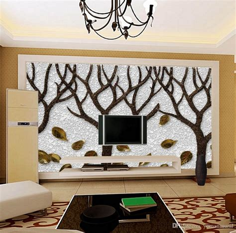 Tree Sticker For Wall 3d room wallpaper custom mural non woven wall sticker tree