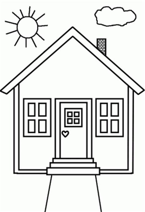 small house coloring page dibujos de casas para imprimir y colorear colorear im 225 genes