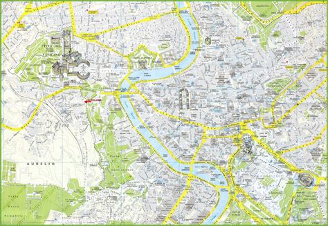 rome map tourist attractions rome tourist attractions map