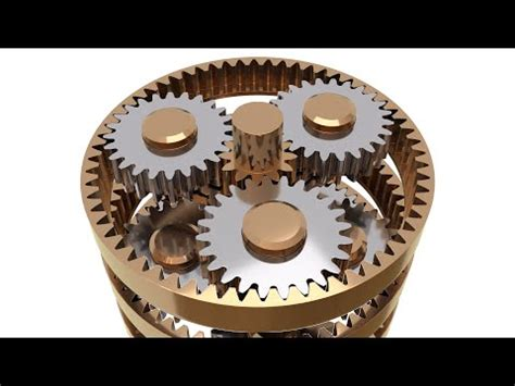 tutorial: how to model a planetary gear mechanism in
