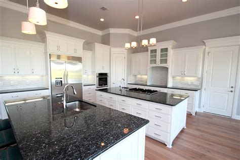 blue pearl granite with white cabinets blue pearl granite kitchen transitional with granite