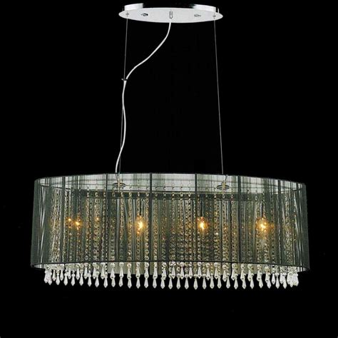 Chandelier Pendants Parts Brizzo Lighting Stores 35 Quot Ovale Modern String Drum Shade