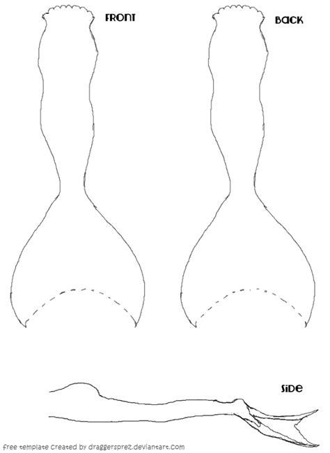 tail template by draggersprez on deviantart
