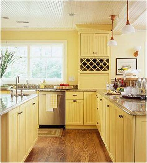 Light Yellow Kitchen 80 Cool Kitchen Cabinet Paint Color Ideas