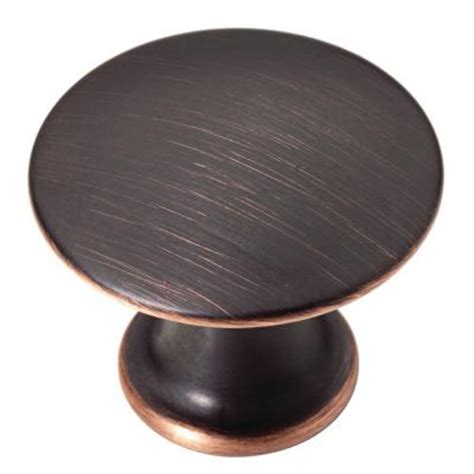 cabinet knobs home depot martha stewart living 1 1 8 in venetian bronze with