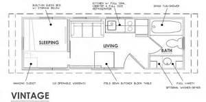 escape floor plan escape vintage is a classic affordable thow tiny house blog