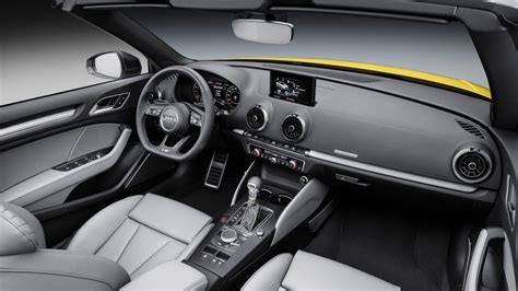 audi a 3 interior 2016 audi a3 s3 facelift revealed increased tech s3