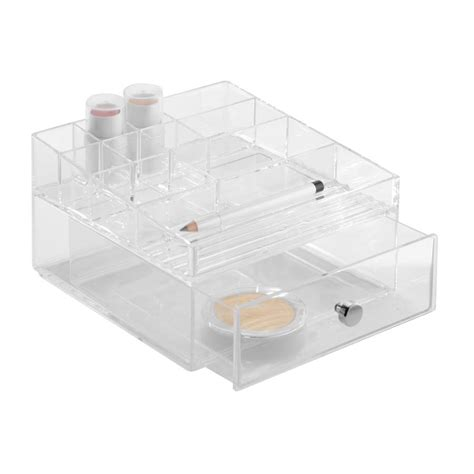 Acrylic Storage Drawers by Two Wide Acrylic Drawers For Makeup Storage By Jodie