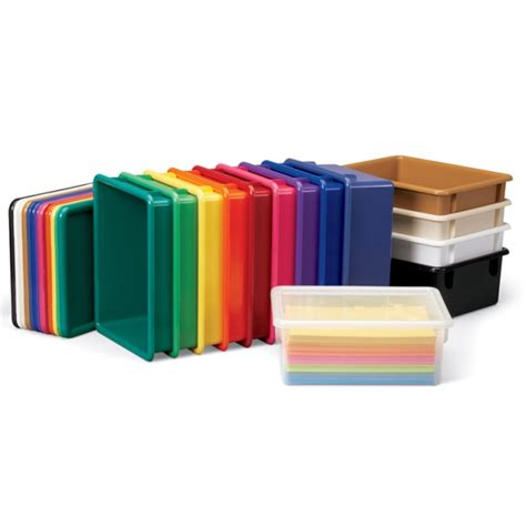 Paper Craft Furniture - jonti craft paper trays n lids 14 colors jonti craft