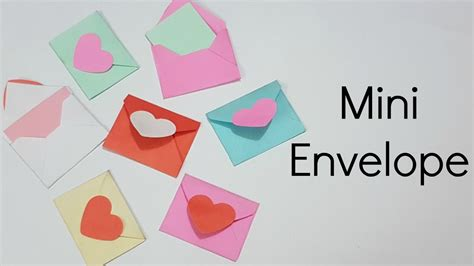 How To Make A Mini Envelope Out Of Paper - mini envelopes for scrapbook mini envelopes for explosion