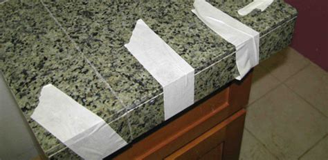 how to install a granite tile countertop how to install a