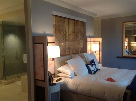 one bedroom terrace suite cosmopolitan the hopeful traveler wraparound terrace suite bedroom at