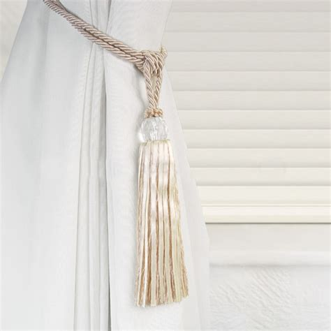 curtain tassel tiebacks crystal beaded tiebacks tassel curtain tie backs tieback