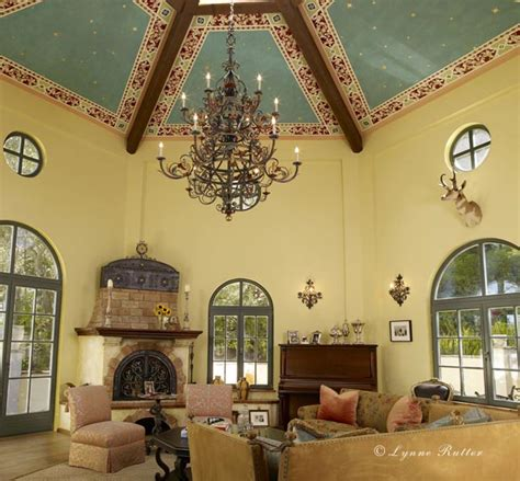 Italian Ceiling Lynne Rutter Studio Ceilings Hexagonal Italian Ceiling