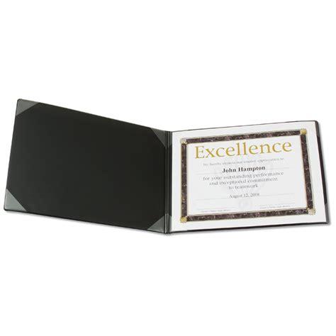 Certificate Document Holder