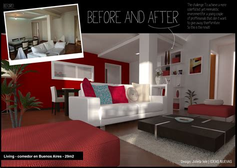 Interior Design Before And After by Interior Design Before And After By Julieta Iele At