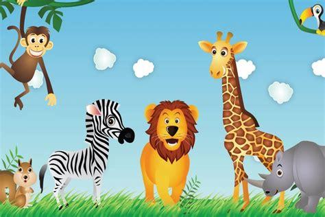 Giraffe Wall Mural trabalenguas de animales