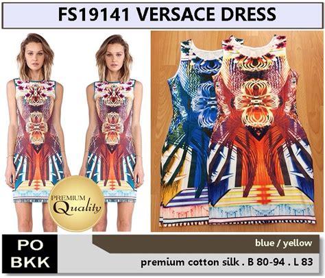 Harga Versace Dress versace dress supplier baju bangkok korea dan hongkong
