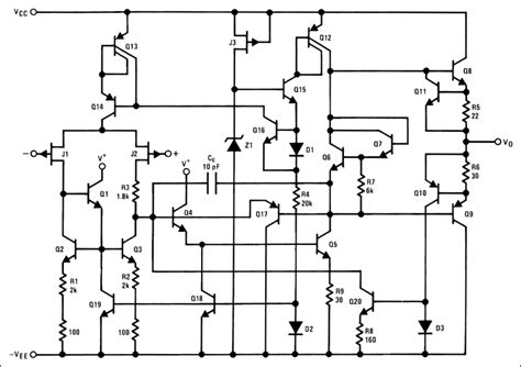 circuit diagram of integrated circuit integrated circuits