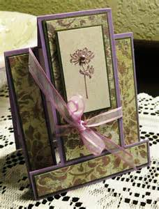oliva s creative quest fancy fold card