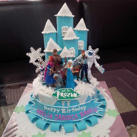 jual kue ultah frozen harga murah jakarta oleh khena cake