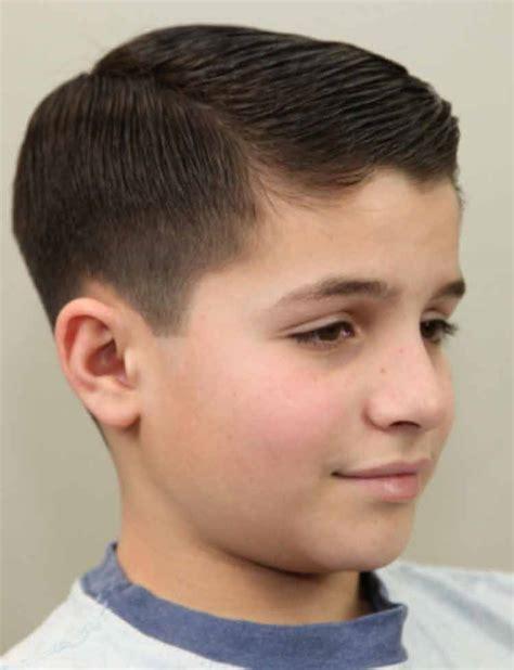 gaya potong rambut anak cowok terbaru