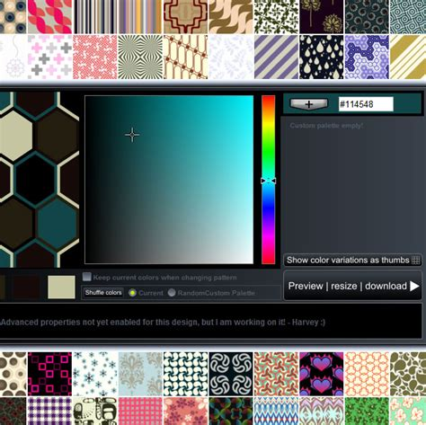 tileable pattern generator online background pattern generators psddude