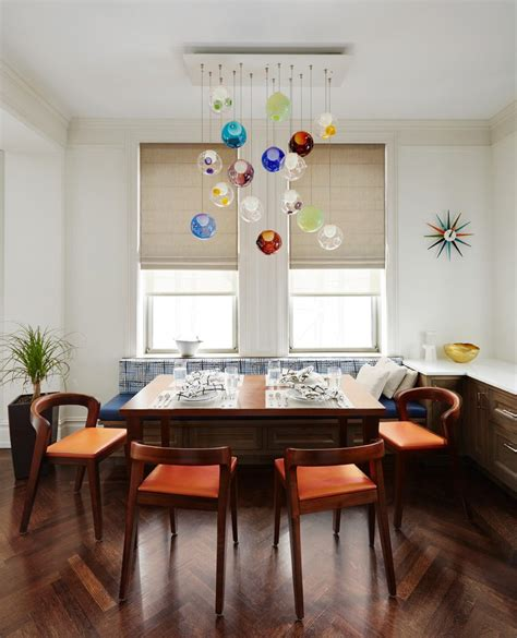 Dining Room New York by New York Glass Pendant Lights Dining Room Transitional