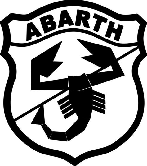 Abarth Aufkleber by Abarth Logo Vinyl Sticker Decal Graphic