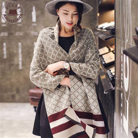 Pashmina New Casmere By Umama 1 winter luxury brand soft scarf oversized plaid blanket pashmina shawl warm