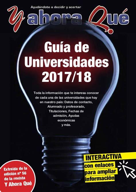 guia de la universidad veracruzana 2017 guia universidades yaq 2017