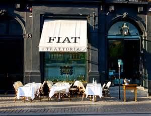 Restaurant Fiat Anmeldelse Af Restaurant Fiat P 229 Kongens Nytorv