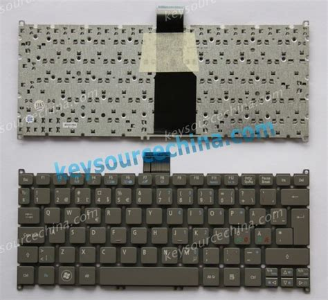 Pd010 Keyboard Acer Travelmate B113 E B113 M gray acer aspire s3 s3 391 s5 391 v5 121 travelmate b113
