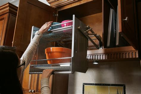 Kitchen Cabinet Sliding Shelves Drop Downs Pullouts And Sliders Every Old Cupboard S