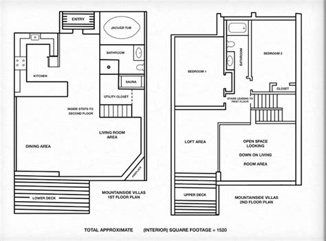 barrier island station duck floor plans units for sale mountainside villas