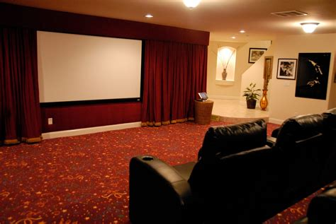 home theater decorating ideas seductive interior home theater decor ideas with dark