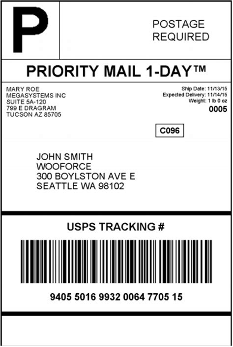 usps label template woocommerce usps shipping plugin postage rates label