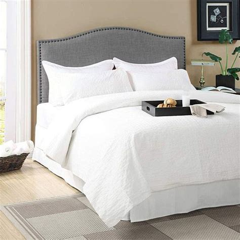 walmart headboards better homes and gardens grayson linen headboard with