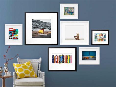how to create an gallery wall hgtv