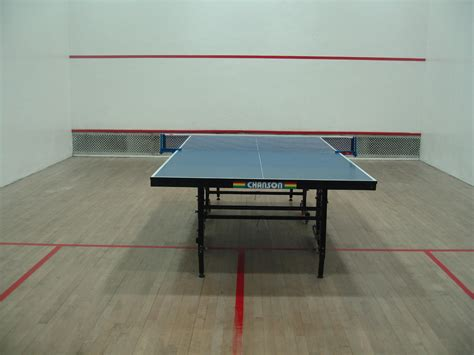 table tennis room size dimensions info