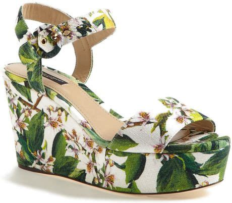 Which Color Flex Color Goes With Dolce Vita Laminate - dolce gabbana wedge sandal in floral white lyst