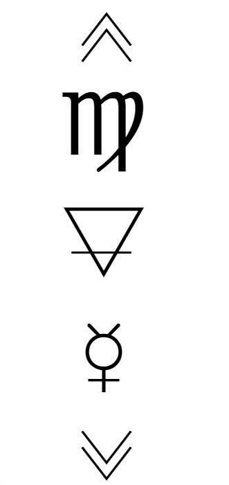 star sign tattoo designs virgo peligro tatuajes