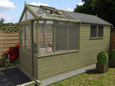 greenhouse garden shed plans greenhouse shed combo