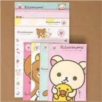Rillakuma Japan Letter Set rilakkuma letter set from japan letter sets