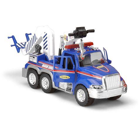 tonka mighty motorized truck tonka mighty motorized tow truck