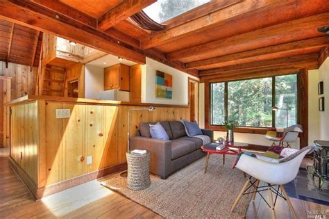 Tiny A Frame House Plans a tiny house basks in the sun near the russian river