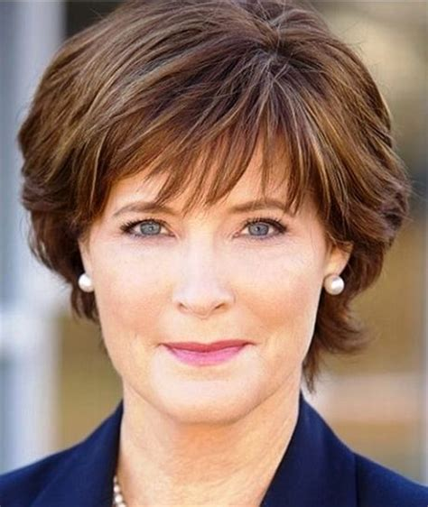 short trendy hair cut for a 50 year old short hairstyles for women over 50 with fine hair 2015