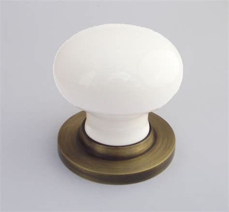 White Door Knobs Uk by Chatsworth White Porcelain Door Knob From More Handles