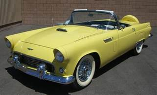1956 ford thunderbird convertible 66501